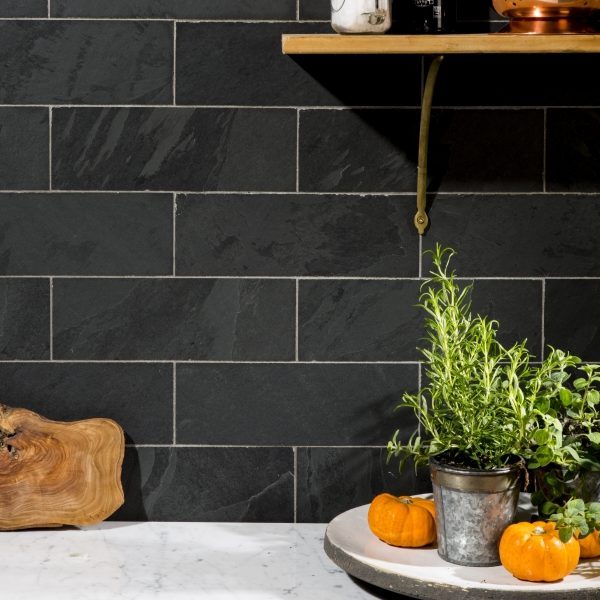 Slate Brick Tile Kitchen 1