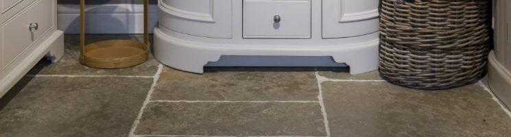 Make your bathroom floor beautiful