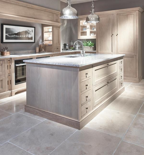 Neranjo Limestone in bespoke kitchen