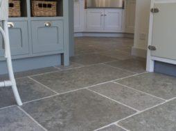 Stone floor & wall