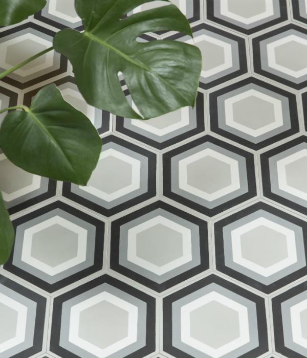 2180316 Hex Tile Floor