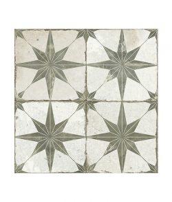 Spitalfields Retro Star Sage Ceramic